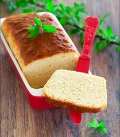 Дюкан хлеб в микроволновке